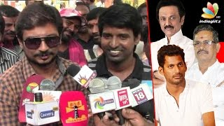Neither Nadigar Sangam nor Producer Council Helped Me : Udhayanidhi Stalin Speech   Soori