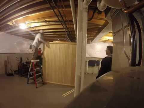 How to Build an Almost Heaven Bridgeport Sauna