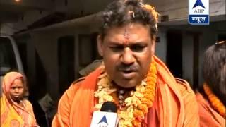 BJP candidate in Darbhanga, Kirti Azad, prays for win