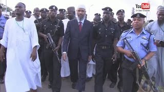 Dr Zakir Naik lecture tour to Nigeria 2012   RohingyaTV