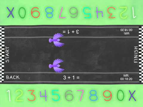 Animal Race : Learn to Count to 10 - iPad math app for kids