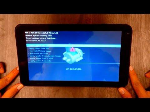 Desbloquear \ Hard Reset Tablet TechPad todos los modelos fácil y rápido