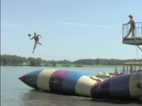 Trick Shot Basketball   Dude Perfect   Summer Camp