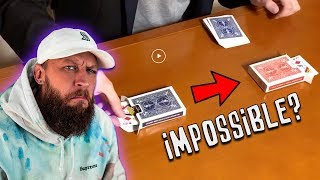 Professional Magician FOOLED by Impossible Magic!!