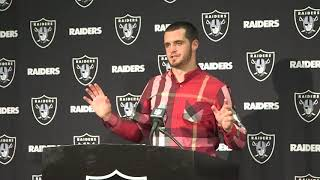 Derek Carr describes Lynch ejection from his perspective