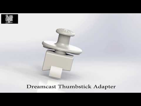 Dreamcast Thumbstick Adapter (Quake, Half-Life...)
