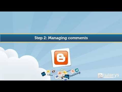 How to manage comments with Blogger ?
