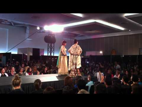 Grand Wedding Show 2012: Beige Indian Dresses