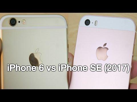 iPhone 6 vs iPhone SE