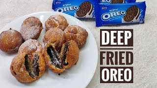 "Deep Fried ""OREO"" Mouthwatering Recipe 