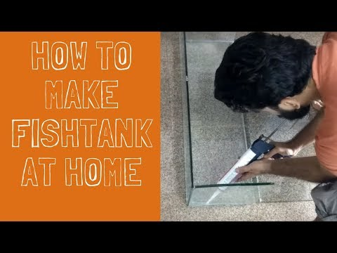 How To Make Fish Tank At Home | DIY | The Indian FishKeeper