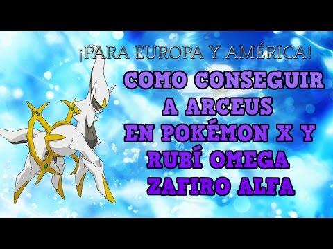 [Finalizado] Como conseguir ARCEUS Pokémon X Y Rubi Omega Zafiro Alfa | Nintendo 3ds