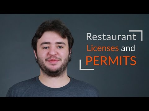Restaurant Licenses and Permits |