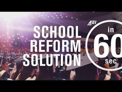 The solution of little 'r' school reform | IN 60 SECONDS