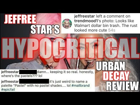 JEFFREE STAR'S HYPOCRITICAL URBAN DECAY REVIEW