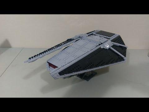 LEGO TIE Reaper MOC + LDD Instructions!!!