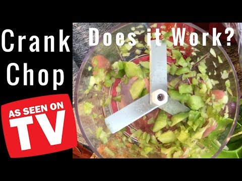 Crank Chop Review - As Seen On TV