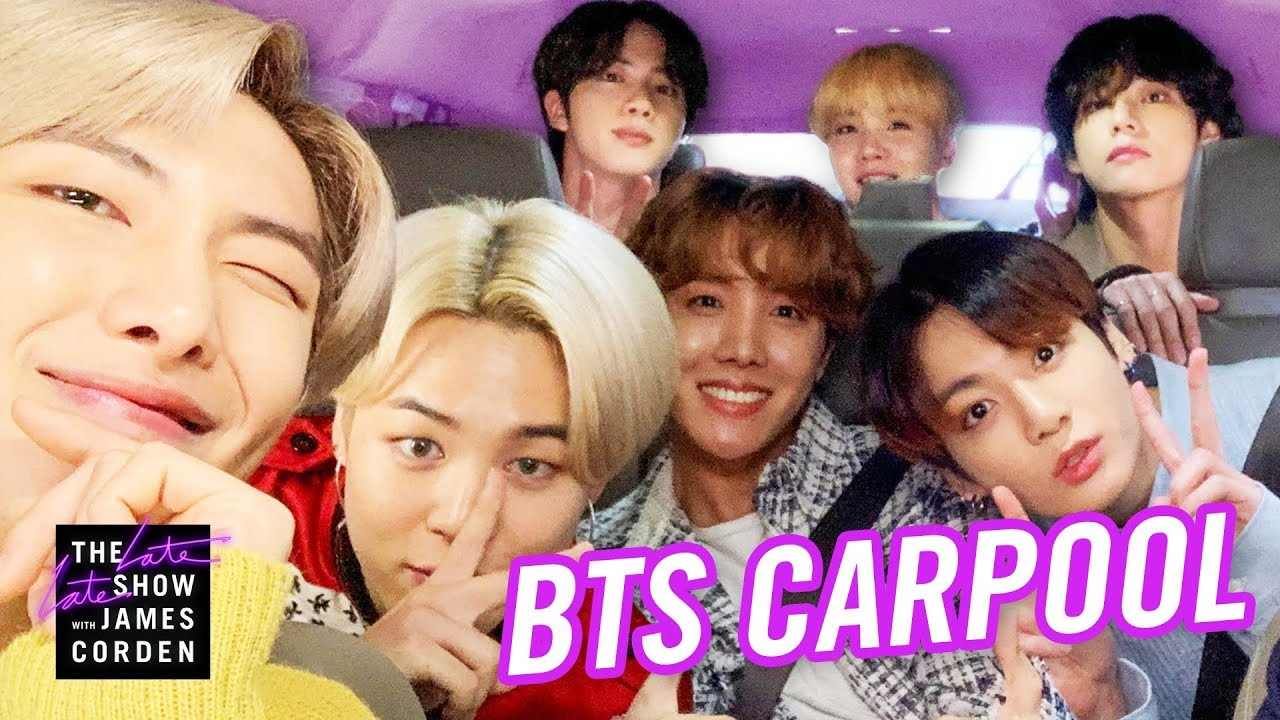 BTS Carpool Karaoke