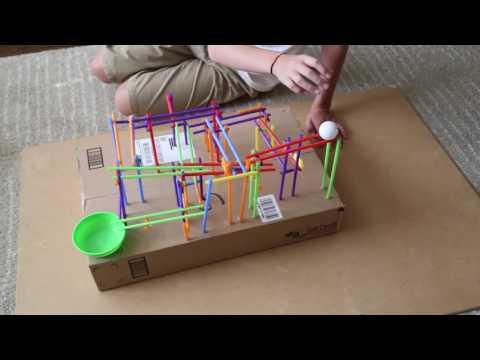 Straw Roller Coaster STEM Challenge