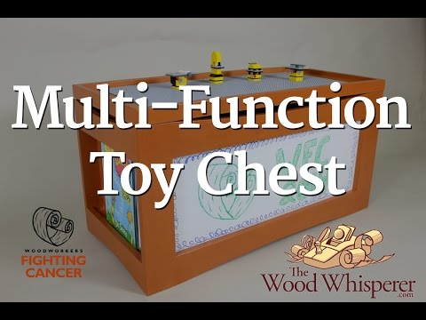 231 - Multi-Function Toy Chest