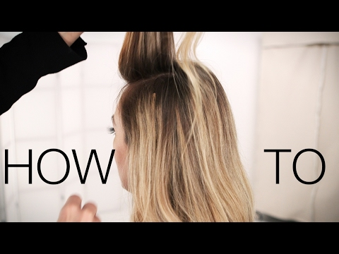 Clip In Hair Extensions | How To Apply