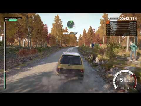 DiRT 4 gameplay career classic Peugeot