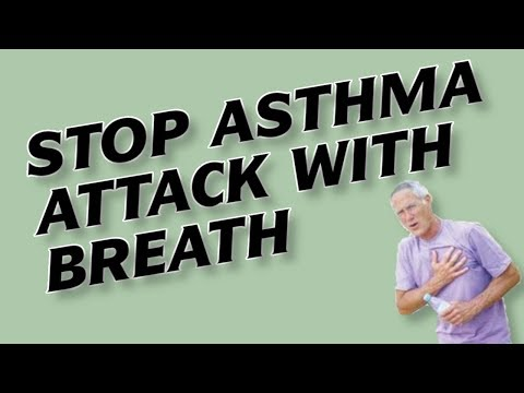 How to Stop Asthma Attack (Cure Acute Asthma Exacerbation) in 2 Min