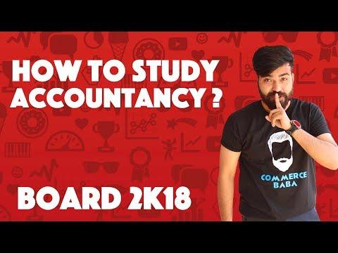 How to study Accountancy ???? #teamcommercebaba