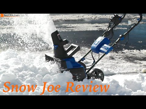Snow Joe iON 40-Volt Cordless & Electric Hybrid Snow Blower Review - iON18SB-HYB