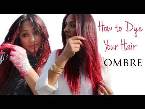 How to Dye your Hair Ombre