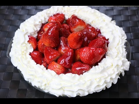 How to Make a Fresh Strawberry Pie (No Gelatin) - Fresh Strawberry Pie Recipe