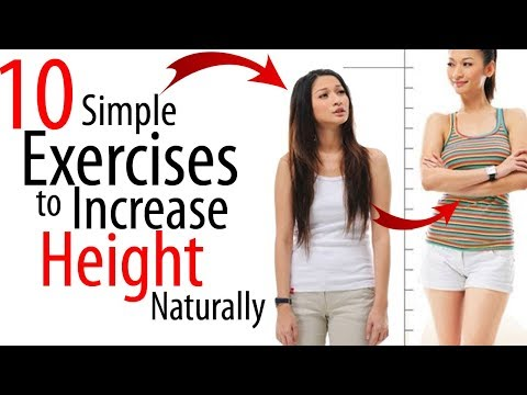 10 Simple Exercises to Increase Height Naturally At Home/ how to increase height naturally