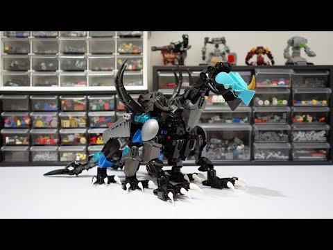 My Son's First Lego Kaiju Raiju!!