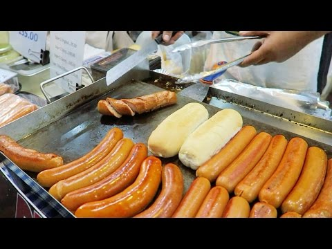 🌭🍔 BURGERS and HOTDOG Amazing Taste! Street Food found in the Philippines | numutv