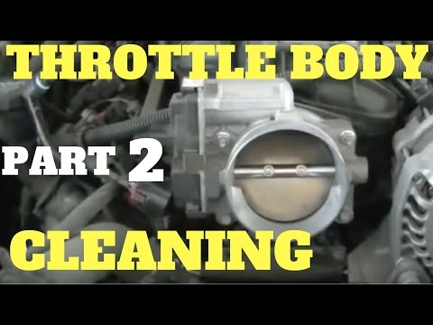 PART 2 CLEANING LS ENGINE THROTTLE BODY | Chevy & GMC Vortec 4.8 5.3 6.0 6.2 Liter