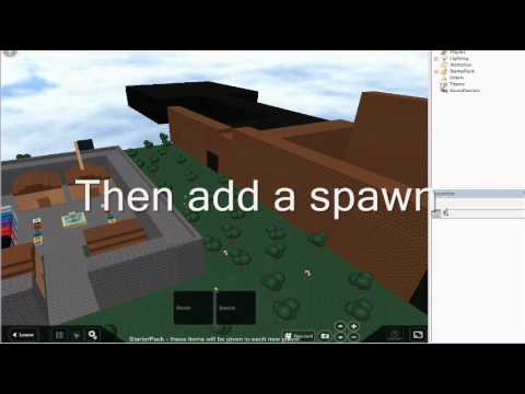 Roblox - How to name a spawn
