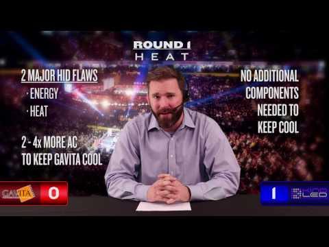 Gavita vs LED Ten Round Grow Battle | LED vs HID | HPS vs LED Grow