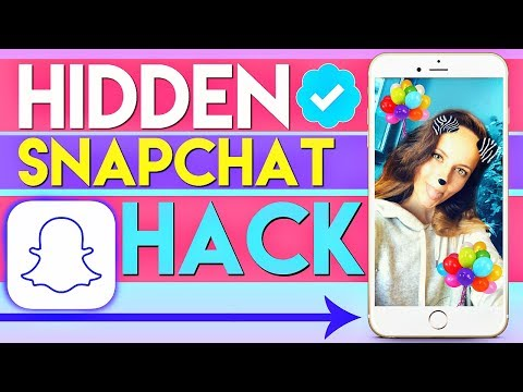 NEW Hidden Snapchat Hack TESTED! Geofilter Hack!