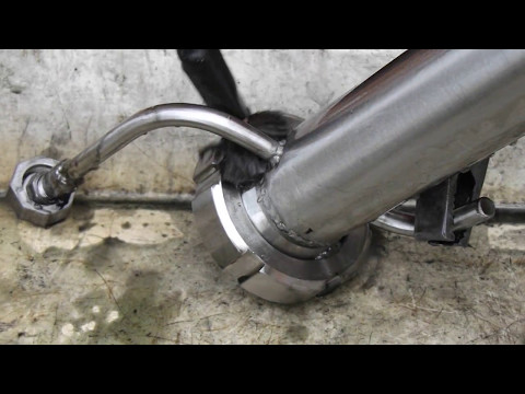 DIY electro polishing of stainless welds.