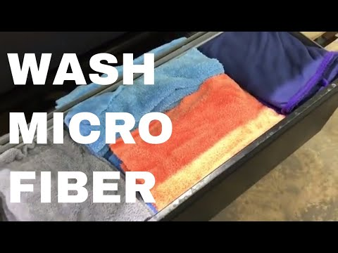 How to Clean Microfiber Towels for Detailing