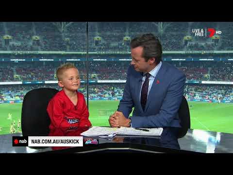 2018 NAB AFL Auskicker of the Year – Rd 9 Nominee