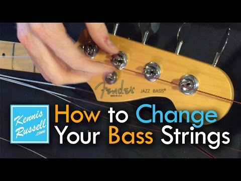 How to Change Your Bass Strings the Right Way