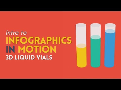 Intro to Infographics in Motion: Liquid Vials/Bar Charts | After Effects Tutorial