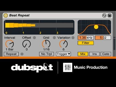 Ableton Live Tutorial: Drum Techniques w/ Beat Repeat