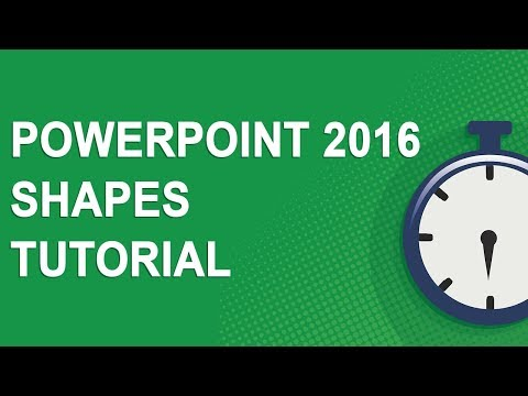 PowerPoint 2016 Shapes Tutorial (NO ADS)