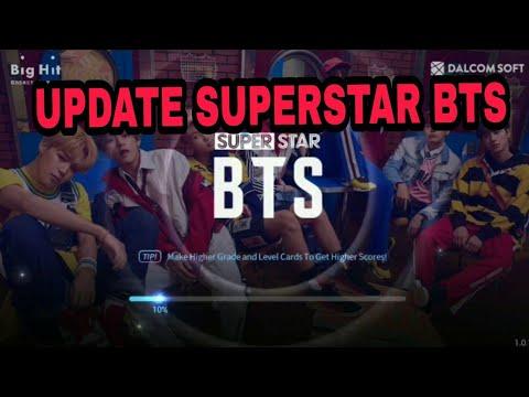 How to update Superstar BTS