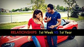 Relationships: 1st week VS 1st year - SHAM IDREES