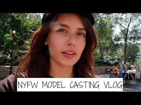 New York Fashion Week Vlog 2017 | Castings | Jessica Clements