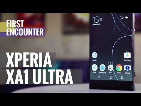 Sony Xperia XA1 Ultra first encounter