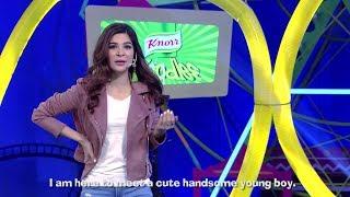 Ayesha Omer has a major fangirl moment at Knorr Boriyat Busters!